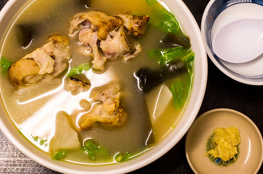 Ashitibichi or Pigs Feet Soup
